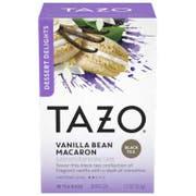 Tazo Vanilla Bean Macaron Tea Bags - 15 tea bags per pack -- 6 packs per case