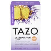 Tazo Glazed Lemon Loaf Tea - 15 tea bags per pack -- 6 packs per case