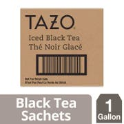 Tazo Black Fresh Brewed Iced Tea Unsweetened, 1 gallon -- 20 per case