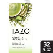 Tazo Green Tea Matcha Latte Tea Concentrate 1:1, 32 ounce -- 6 per case