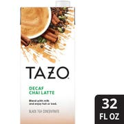 Tazo Decaf Chai Latte Tea Concentrate 1:1, 32 ounce -- 6 per case