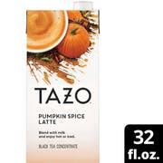 TAZO Pumpkin Spice Latte Concentrate, 32 Fluid Ounce -- 6 per case