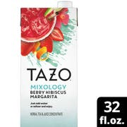 Tazo Mixology Berry Hibiscus Margarita Herbal Tea Concentrate, 32 Ounce -- 6 per case