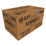 Sunsweet Grower Prune Juice, 5.5 Fluid Ounce Can -- 48 per case.