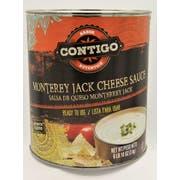 Contigo Monterey Jack Cheese Sauce, Number 10 Can -- 6 per case