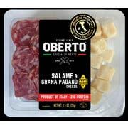 Oberto Salame Grana Padano Cheese, 2.5 Ounce -- 24 per case