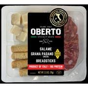 Oberto Salame Breadsticks Grana Padano Cheese, 2.5 Ounce -- 24 per case