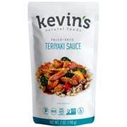Kevins Natural Foods Teriyaki Sauce, 7 Ounce -- 12 per case