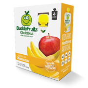 Buddy Fruits Originals Apple and Banana Fruit Blend, 12.8 Ounce -- 6 per case.