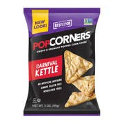 Popcorners Kettle Corn Chips, 3 Ounce -- 6 per case.