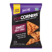 Popcorners Sweet Chili Popped Corn Chips, 5 Ounce -- 12 per case.