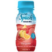 Go Splash Fruit Punch Liquid Water Enhancer -- 9 per case.