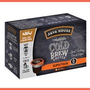 Java House Sumatran Authentic Cold Brew Coffee Pod, 1.35 Fluid Ounce -- 6 per case.