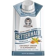 Califia Farms Better Half Vanilla Coconut Cream and Almond Milk, 16.9 Ounce -- 6 per case