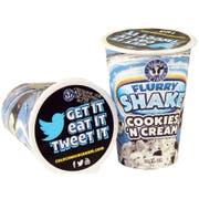 Cold Cow Vanilla Milkshake, 12 Ounce -- 16 per case