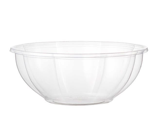 World Centric Clear Ingeo Compostable Salad Bowl, 24 Ounce -- 600 per case.