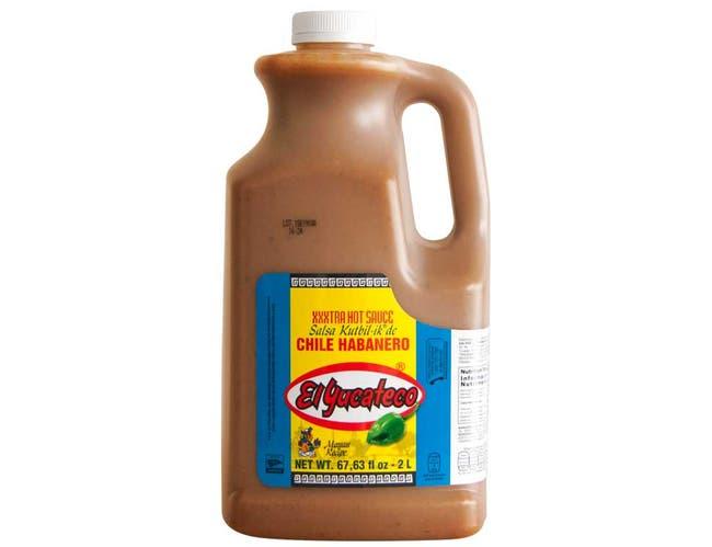 El Yucateco Extra Hot Habanero Sauce, 67.63 Fluid Ounce -- 2 per case