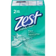 Zest Personal Aqua Cleansing Washing Bar Soap, 6.4 Ounce -- 24 per case.