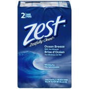 Zest Personal Ocean Breeze Cleansing Washing Bar Soap, 6.4 Ounce -- 24 per case.