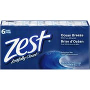 Zest Ocean Breeze 3.2 Ounce Bar Soap, 6 count per pack -- 8 per case.