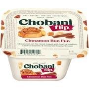 Chobani Flip Cinnabun Fun Yogurt, 5.3 Ounce -- 12 per case.