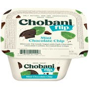 Chobani Flip Mint Chocolate Chip Yogurt, 5.3 Ounce -- 12 per case.