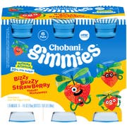 Chobani Gimmies Bizzy Buzzy Strawberry Yogurt Milk Shake, 4 Fluid Ounce -- 4 per case