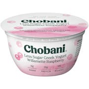 Chobani Williamette Raspberry Greek Yogurt, 5.3 Ounce -- 12 per case.