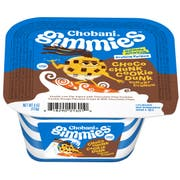 Chobani Gimmies Choco Chunk Cookie Dunk Yogurt Crunch, 4 Ounce -- 12 per case.