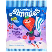 Chobani Gimmies Super Berry Rocket Yogurt Tubes, 1.5 Ounce -- 60 per case