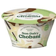 Chobani Vanilla Non Dairy Yogurt, 5.3 Ounce -- 12 per case.