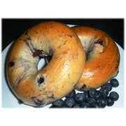Burry Food Parbaked Blueberry Bagel, 4 Ounce -- 72 per case.