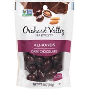 Orchard Valley Dark Chocolate Almonds, 2 Ounce -- 14 per case.