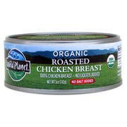 Wild Planet Foods Organic No Salt Roasted Chicken Breast, 5 Ounce -- 12 per case