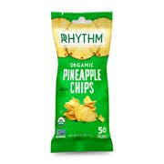 Rhythm Superfoods Organic Crunchy Pineapple Chips, 0.42 Ounce -- 12 per case