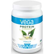 Vega Protein and Greens Vanilla Flavored Drink Mix, 18.6 Ounce -- 12 per case