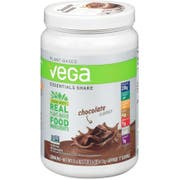 Vega Essentials Chocolate Flavored Shake Drink Mix, 21.6 Ounce -- 12 per case