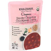 Khazana Organic Smoky Chipotle Chickpeas Curry, 10 Ounce -- 6 per case