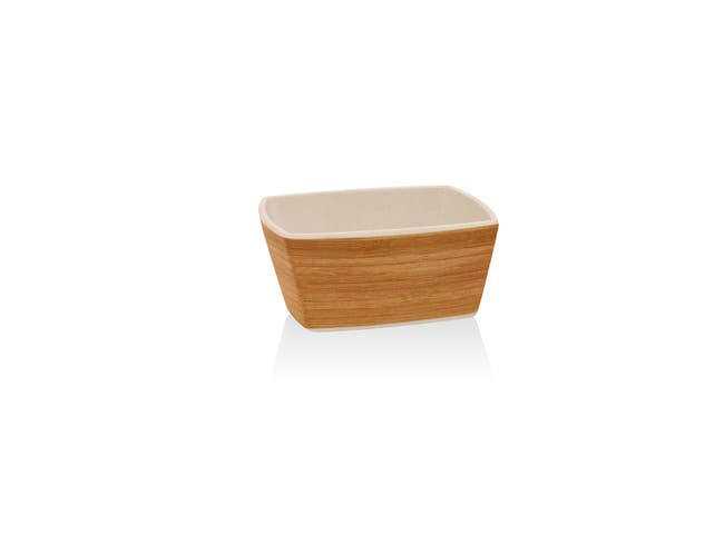 Front Of The House Platewise Square Bowl, 6 Inch -- 6 per case
