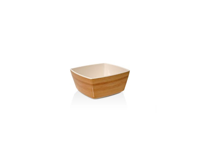 Front Of The House Platewise Square Bowl, 4.5 x 4.5 x 2.25 inch -- 12 per case