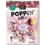 Project 7 Poppin Lollis Candy, 3 count per pack -- 12 per case