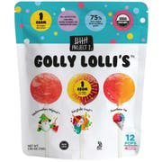 Project 7 Golly Lollis Candy, 12 count per pack -- 12 per case