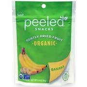 Peeled Snacks Organic Banana Dried Fruit, 2.8 Ounce -- 12 per case