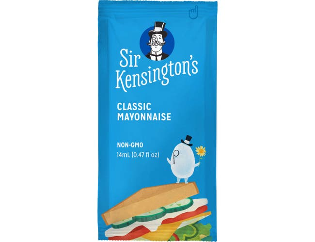 Sir Kensingtons Mayonnaise, 14 Gram Squeeze Packet -- 600 per case.