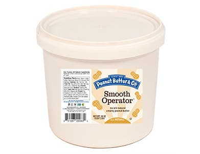 Peanut Butter and Co Smooth Operator Peanut Butter, 5 Pound -- 6 per case.