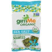 Gimme Organic Sea Salt Premium Roasted Seaweed, 0.35 Ounce -- 12 per case