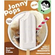 Jonnypops Root Beer Float Creamy Smoothie On a Stick, 3 count per pack -- 6 per case