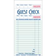 Value Essentials Green 1 Part 16 Lines Guest Check Bond, 3.50 x 6.75 inch -- 5000 per case.
