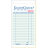 Value Essentials Green 2 Part 19 Lines Carbonless Guest Check, 3.40 x 6.75 inch -- 2500 per case.