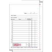 Value Essentials White Two Part 11 Lines Carbonless Sales Book, 3.50 x 5.63 inch -- 5000 per case